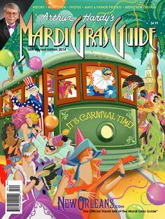 Arthur Hardy's 2014 Mardi Gras Guide- on sale now.