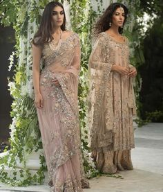 Latest Pakistani Bridal Sarees For Weddings in 2020 Pakistani Wedding Outfits, Pakistani Bridal, Saree Wedding, Pakistani Dresses, Indian Dresses, Indian Sarees, Bridal Sarees, Wedding Dresses, Hot Girls