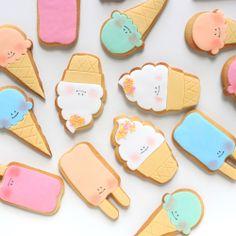 kawaii cookies. #eeflillemor