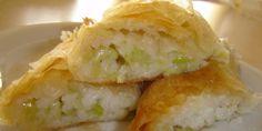 Posna pita sa prazilukom i pirinčem so maslo Bakery Recipes, Dessert Recipes, Posna Predjela, Vegan Recipes, Cooking Recipes, Croatian Recipes, Fish And Seafood, Bread Baking, Cookie Dough