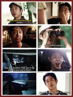 Glenn Rhee - Steven Yeun - AMC's The Walking Dead Cast
