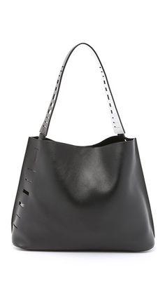 Vince Cutout Hobo Bag