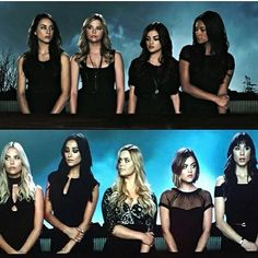 The New intro and the old intro photo #pll #prettylittleliars #hanna #hannamarin #emily #emilyfields #spoby #spencerhastings #aria #ariamontgomery #alison #alisondilaurentis #tobychavenaugh #toby #abcfamily #dilaurentis #prettylittleliarsintro