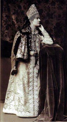 Костюмированный бал 1903 года -   Мария Николаевна Воейкова.