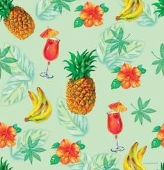 Luau Beach Tropical Party Decorations Supplies Tablecover Tablecloth Pineapple | eBay