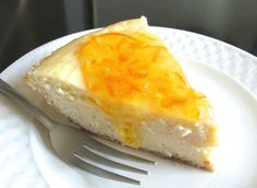 Amaretto-scented ricotta pie, topped (or not) with orange marmalade | for Easter / Ostern  http://www.kingarthurflour.com/blog/2013/03/15/ricotta-pie-buona-pasqua/