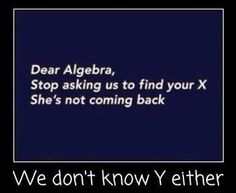 My math teacher(who is married) loved this!