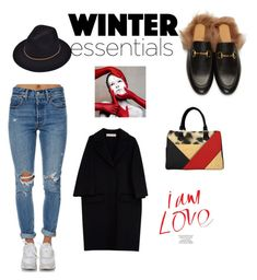 """""""Winter essentials"""" by julie-benoit ❤ liked on Polyvore featuring Gucci, Levi's and Marni"""