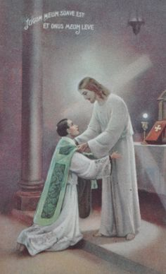 """Fr. Peter Carota in the Confessional #Catholic #Modesty """"Over and over I hear men telling me that they are having bad thoughts while in church from the sexy way the women dress while attending Mass.  I have never heard a women say that she has bad thoughts during Mass because of how the men dress at Mass. As a priest, just imagine what it is like to give Holy Communion, the Body of Christ, right above a woman showing off her chest. """""""