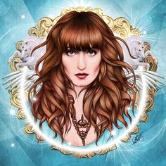 DESENHO /DRAWING Florence Welch  By Will Costa