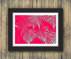 Riot | Poster A3 e A4  #poster #quadro #pôster #decoração #decoraçãocriativa #ilustração #inspiração #arte #criativo #criatividade #natureza #cor #rosa #folha