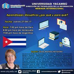 "Teresa Clotilde Ojeda Sánchez: Webinar gratuito: ""Aprendizajes disruptivos: ¿por ..."