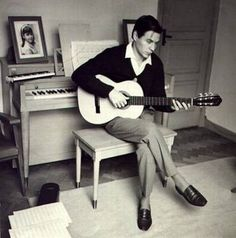 ANTONIO CARLOS JOBIM: The singer song writer who come up with the bossa nova style back in his younger years.