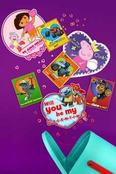 These Six Cute Nick Jr. DIY Valentine's Day cards will help you wishare a super easy and quick way to add a loving touch to your child's day.