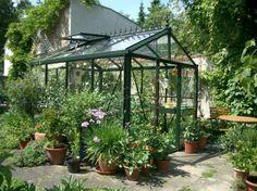 Gamoni.de Ich liebe meinen Garten. Helios Victorian Gewächshaus VI 23