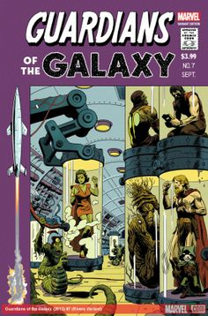 GUARDIANS OF THE GALAXY (2013) #7 (RIVERA VARIANT)