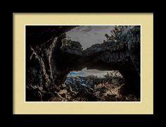Bridge The Gap Framed Print by Marnie Patchett