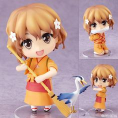 AmiAmi [Character & Hobby Shop] | (Pre-owned ITEM:A/BOX:B)Nendoroid - Hanasaku Iroha: Ohana Matsumae(Released)