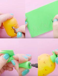 Un+adorable+moyen+de+recycler+les+œufs+Kinder+en+boite+pour+vos+écouteurs