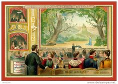 Liebig S348 A234 Puzzles (Hidden Objects) XIII [2] - GERMAN 1892 ...