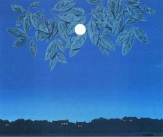 René Magritte, The Blank Page, 1967 on ArtStack #rene-magritte #art
