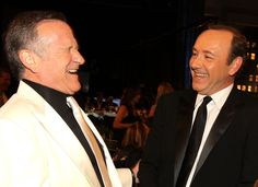 Robin Williams et Kevin Spacey 2010