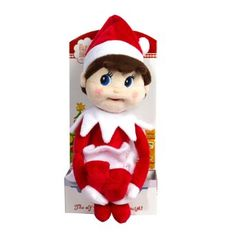 Amazon.com: The Elf on the Shelf Girl Plushee Pal - Light: Toys & Games