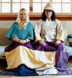 Korean Traditional, Traditional Dresses, Korean Image, Modern Hanbok, Yukata, Mix Match, Cute Couples, Sewing, My Style