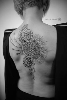 The Sacred Geometry Of Piotr Szot | Tattoodo.com