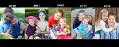 get pictures of your kids together AT LEAST once a year!