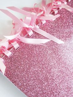 Made-to-order  Blossom Pink Glitter Notebook by nuvonova on Etsy