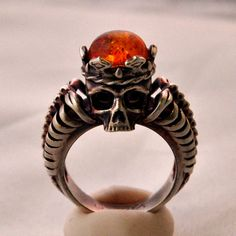 Antiqued sterling silver with baltic amber - Limited Edition, available only a short period of time - $190