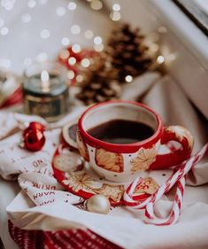 Christmas Coffee, Noel Christmas, Winter Christmas, Christmas Cookies, Xmas, Winter Snow, Christmas Feeling, All Things Christmas, Theme Noel