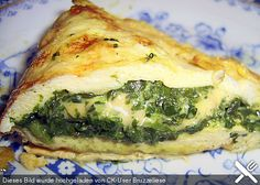 Spinat-Käse-Omelett Spinach – cheese – omelette, a very nice recipe from the category eggs. Low Carb Keto, Low Carb Recipes, Cooking Recipes, Healthy Recipes, Cooking Food, Food Blogs, Food Videos, Best Smoothie, Best Pancake Recipe