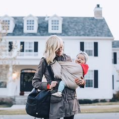 Baby wearing is the best. Beautiful shot with the wonderful wildbird.co sling in action.