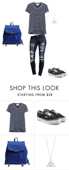 """""""Ravenclaw inspired Back To School outfit"""" by kate-elizabeth-5 on Polyvore featuring Vans, Forever 21, BackToSchool, harrypotter, ravenclaw and TeenGirl"""
