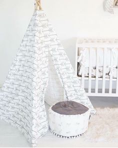 Kids Teepee Play Tent White Arrow - child teepee, nursery decor, boy teepee, arrow teepee, white teepee, kids room, toddler gift, tipi tent by LittleBraveOnes on Etsy https://www.etsy.com/listing/340357074/kids-teepee-play-tent-white-arrow-child