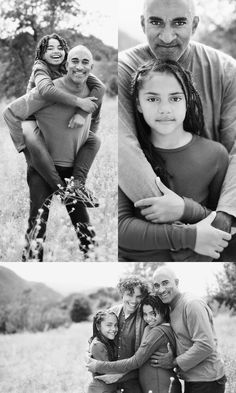 pastel photography- father & daughter