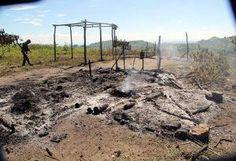 BIFF bandits burn down houses in Maguindanao town