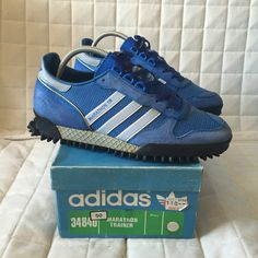 adidas Marathon Trainer (TR) 1984 Made in Yugoslavia Nike Balance, Adidas Sneakers, Shoes Sneakers, Mens Training Shoes, Adidas Sport, Comfy Shoes, Childrens Shoes, Trainer, Toddler Shoes