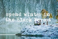spend the winter in the Black Forest in Germany