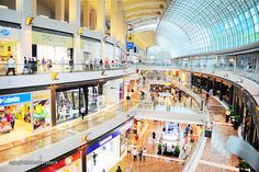If shopping was a sport then it would surely be classed as the national one of Singapore. This tiny island nation packs in more malls per square mile than any other country in the world, meaning that although it might only appear as a small red dot on your