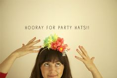 @Jessica Jackson can we all wear these party hats for your shower?! maybe make them more glittered