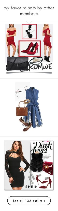 """""""my favorite sets by other members"""" by dalba77 ❤ liked on Polyvore featuring romwe, Chicwish, Melissa, Lizzy James, Cole Haan, Bobbi Brown Cosmetics, Daniel Wellington, Ralph Lauren Home, Khaite and Dolce&Gabbana"""
