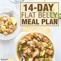 14-Day Flat Belly Meal Plan