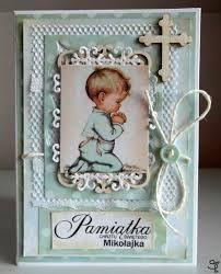 Znalezione obrazy dla zapytania kartka na chrzest dla chłopca