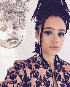Flicking through my phone finding old photos. That summer not having to deal with my hair was amazing. Been trying to find a moment to… Nathalie Emmanuel, Queen Fashion, Women's Fashion, Celebs, Celebrities, Trendy Hairstyles, Black Girl Magic, Beautiful Actresses, Old Photos