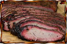 Texas style Brisket - savustettua naudan rintaa - Kauhukeittiö