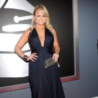 Miranda Lambert arrives at the 55th Annual GRAMMY Awards