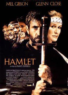 Mel Gibson as Hamlet -- Best film adaptation of the Shakespearean classic.